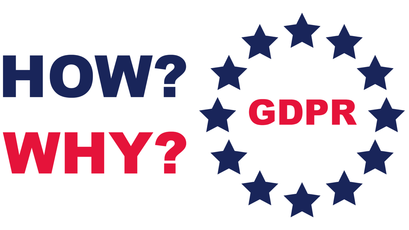 GDPR compliance, how, why