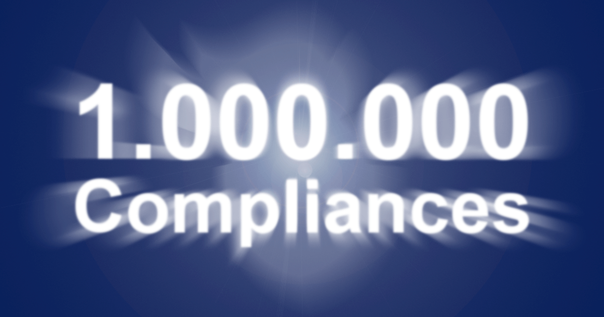 1 million compliances gdpr software GetComplied