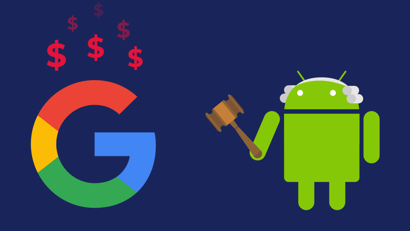 Google fined by the Commission on €4.34 billion