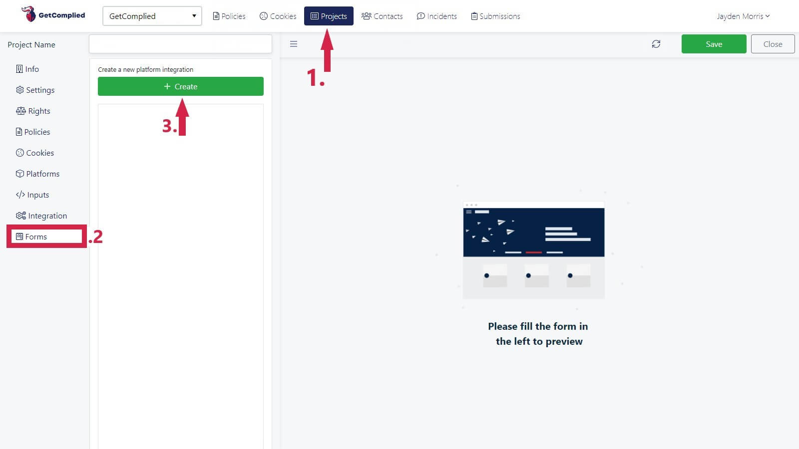 submission forms tutorial