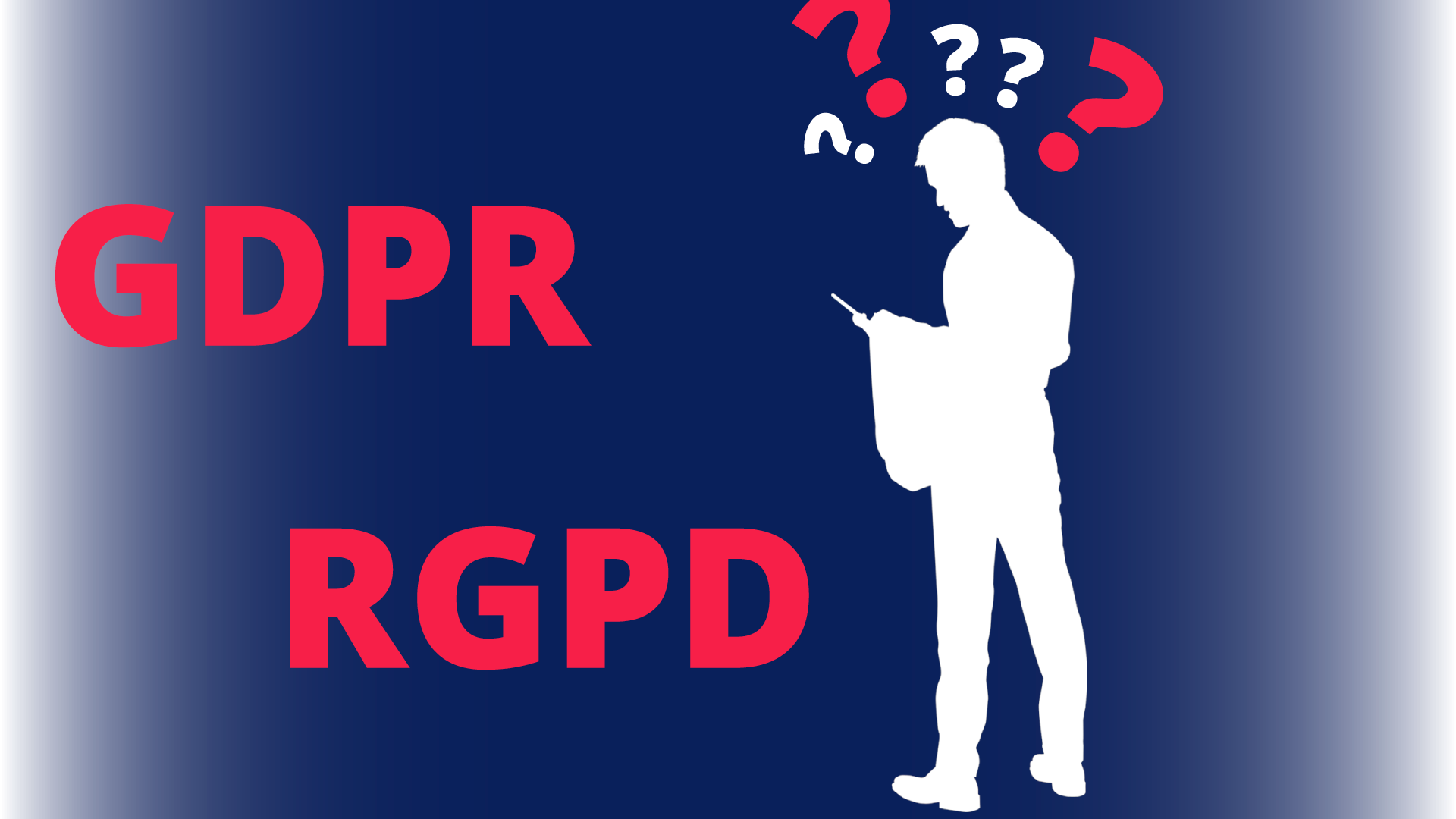What's the real purpose of the GDPR
