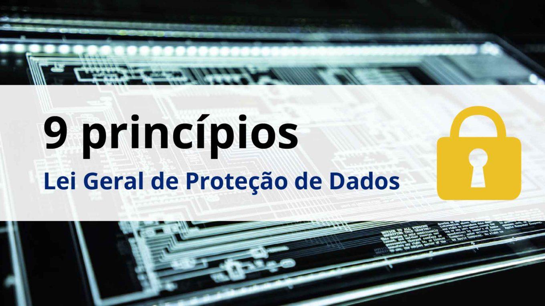 10 principios da LGPD